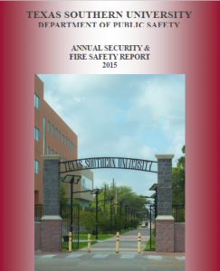T S U D P S 2015 Annual Security and Fire Safety Report